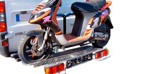 motorradtr ger und rollertr ger f r das wohnmobil bei. Black Bedroom Furniture Sets. Home Design Ideas